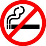symbool niet roken