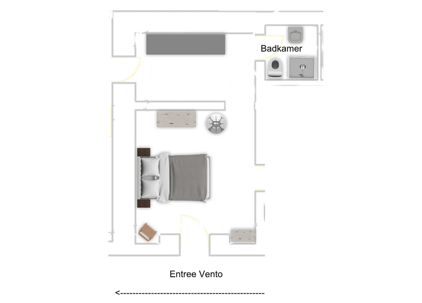 plattegrond Vento