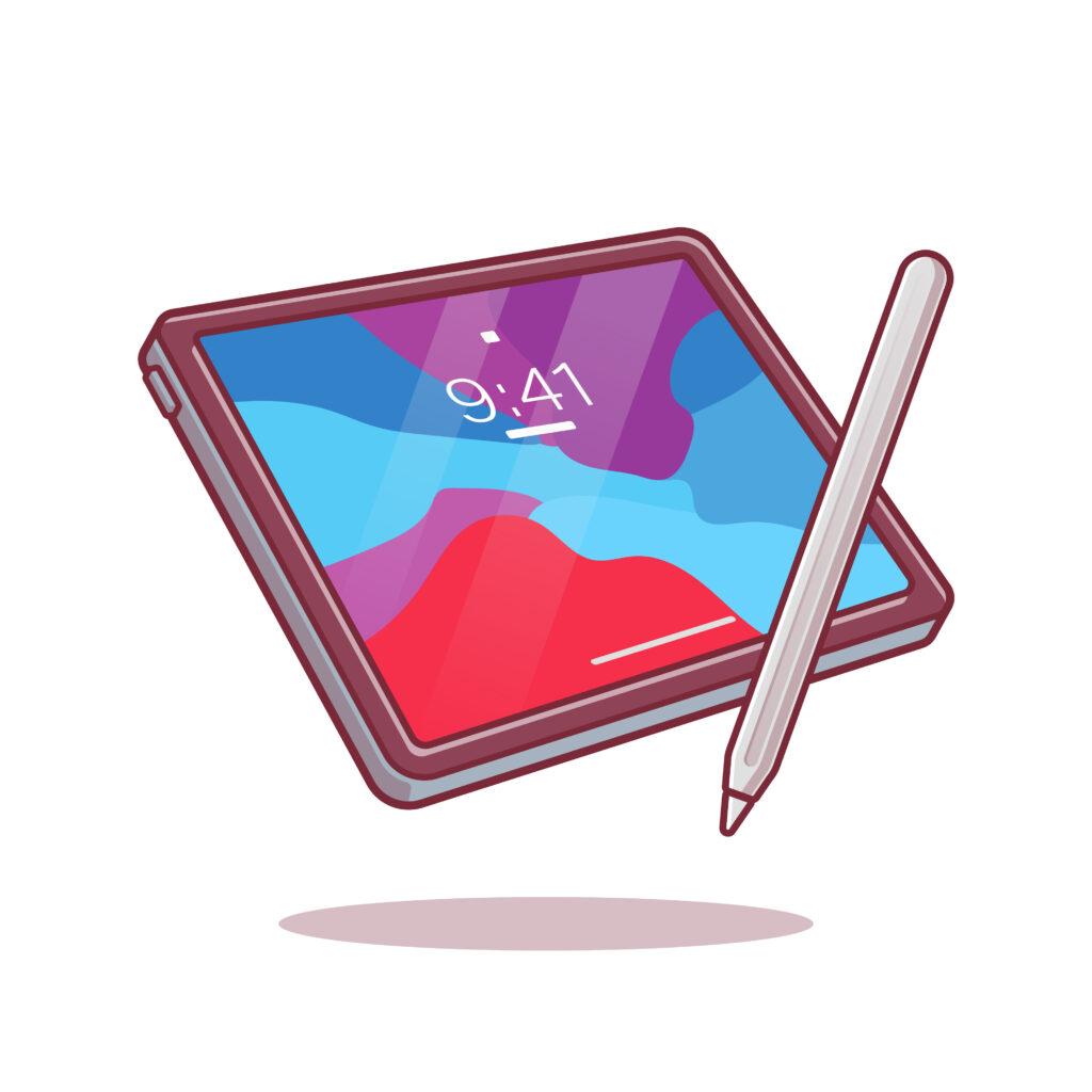 tablet om interessante websites te bezoeken